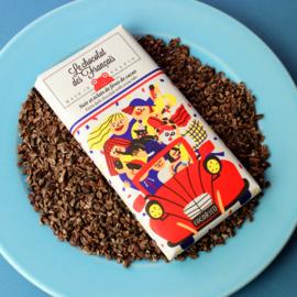 Chocolade - La 2CV - Puur  Cacaonibs -  Le Chocolat des Français