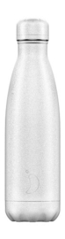 Chilly's Bottle - White Glitter - 500 ml