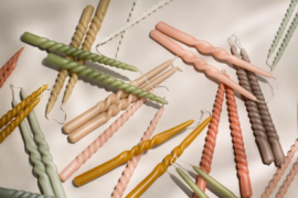 Dinerkaars Twist - Blossom - Rustik Lys