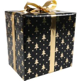 Kerst Cadeau - Glazen theepot met filter & 2 soorten Kruiden Thee