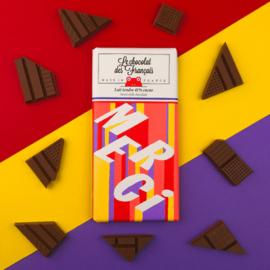 Chocolade - Merci - Melk - Le Chocolat des Français