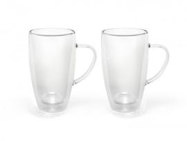 Dubbelwandige Theeglazen 0,29 liter - set van 2 stuks - Bredemeijer
