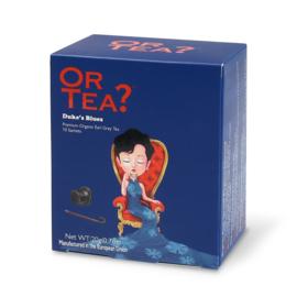 Doosje met 10 theezakjes - Duke's Blues - Or Tea?