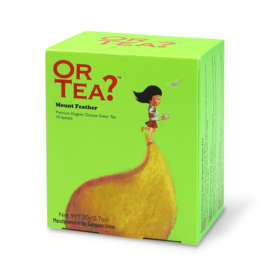 Doosje met 10 theezakjes - Mount Feather - Or Tea?