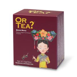 Doosje met 10 theezakjes - Queen Berry - Or Tea?