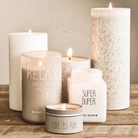 Sojakaars - Super Duper - Geur: Fresh Cotton - My Flame