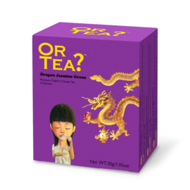 Doosje met 10 theezakjes - Dragon Jasmine Green - Or Tea?