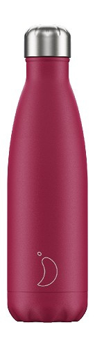 Chilly's Bottle - Pink Matte - 500 ml