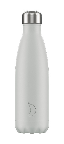 Chilly's Bottle - Pale Grey Matte - 500 ml