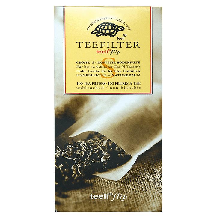 Theezakjes voor losse thee - Teeliflip S - 100 stuks - biologisch afbreekbaar