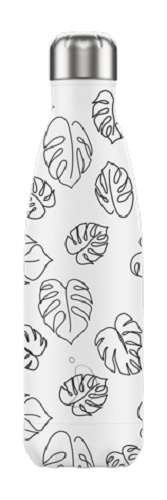 Chilly's Bottle - Line Art Leaves - 500 ml