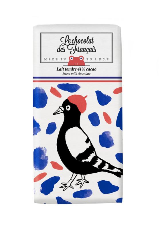 Chocolade - L'oiseau - Melk - Le Chocolat des Français