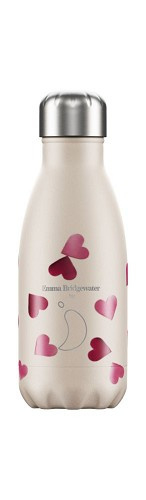 Chilly's Bottle - Pink Hearts - 260 ml