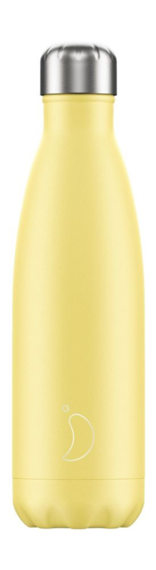 Chilly's Bottle - Pastel Yellow - 500 ml