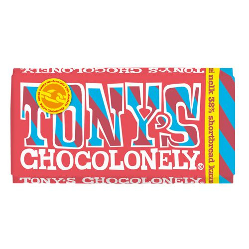 Chocolade - Melk Shortbread Karamel - Tony's Chocolonely