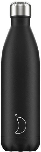 Chilly's Bottle - Black Matte - 750 ml