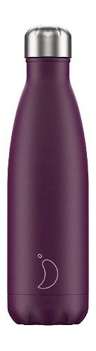 Chilly's Bottle - Purple Matte - 500 ml