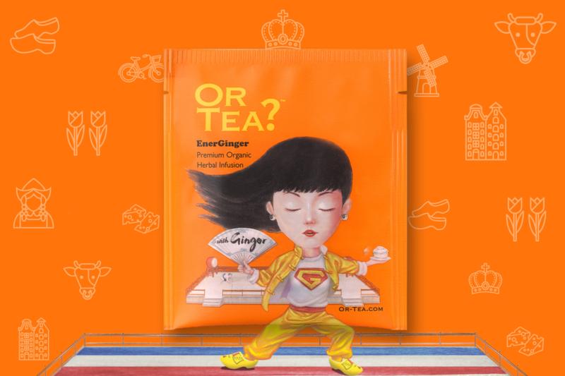 Theekaart - I love Holland - Or Tea?