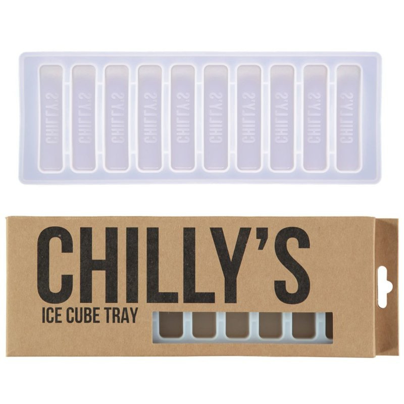Chilly's Bottle - Ice Cube Tray White