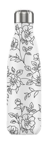 Chilly's Bottle - Line Art Flowers - 500 ml