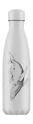 Chilly's Bottle - Sealife Whale - 500 ml