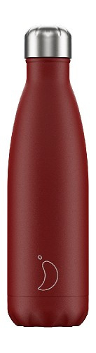 Chilly's Bottle - Red Matte - 500 ml