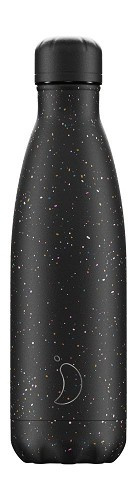 Chilly's Bottle - Speckled Black - 500 ml