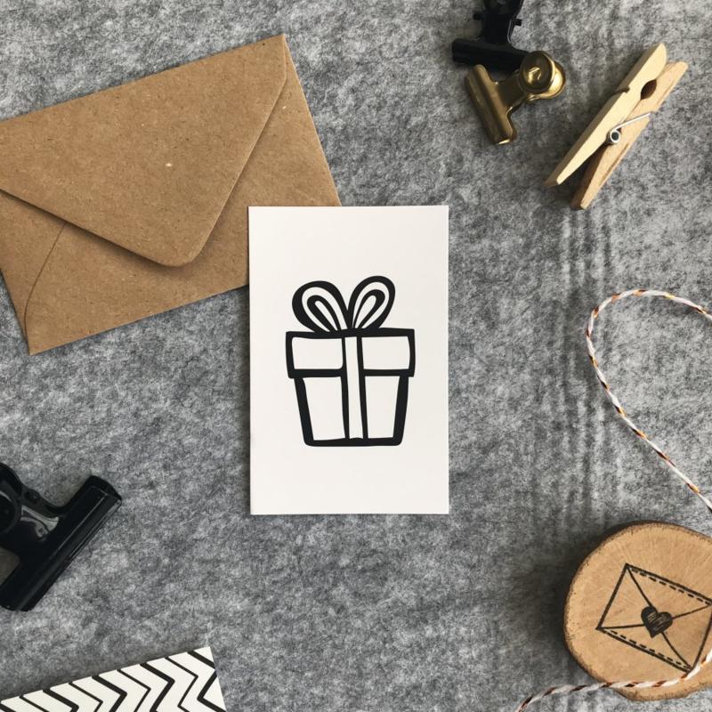 Minikaart - Cadeautje