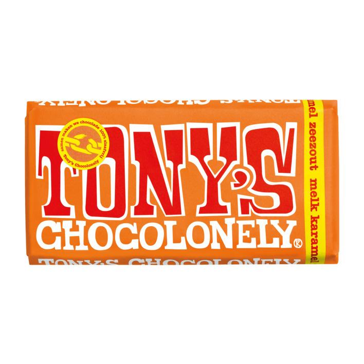 Chocolade - Melk Karamel Zeezout - Tony's Chocolonely