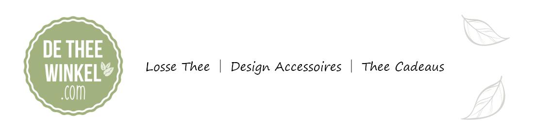 De Thee Winkel - Losse Thee, Design Accessoires & Thee Cadeaus