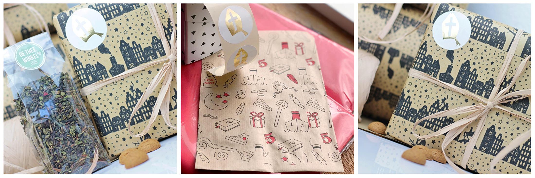 Sinterklaas Thee Cadeau De Thee Winkel Sinterklaas Thee