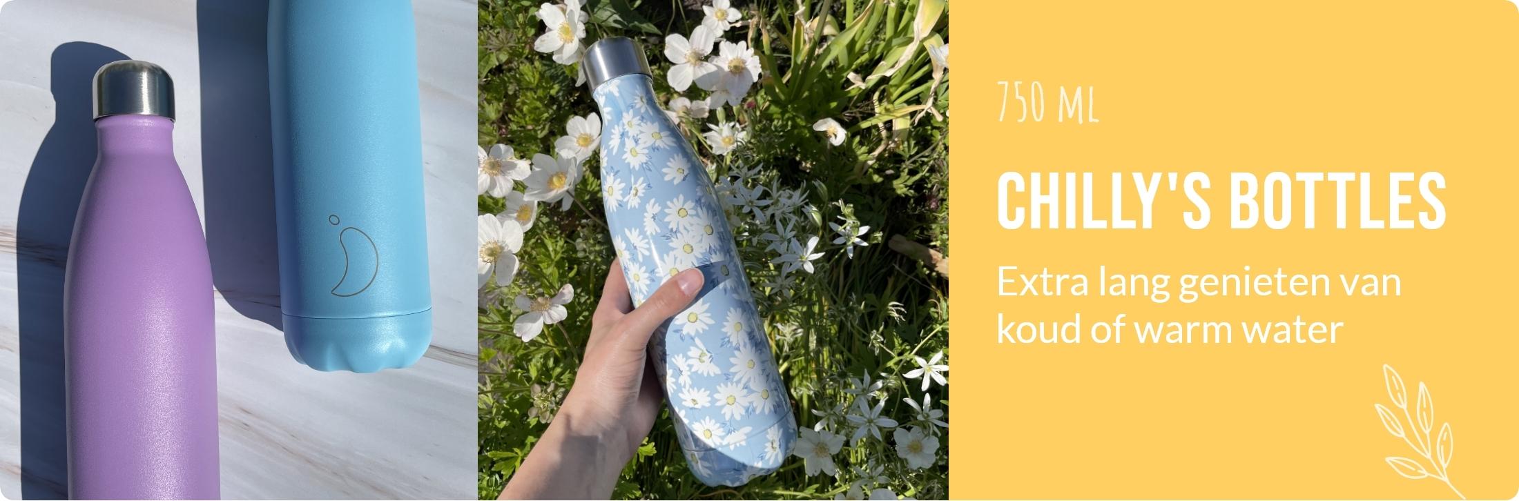 De Thee Winkel - Chilly's Bottles - 750 ml