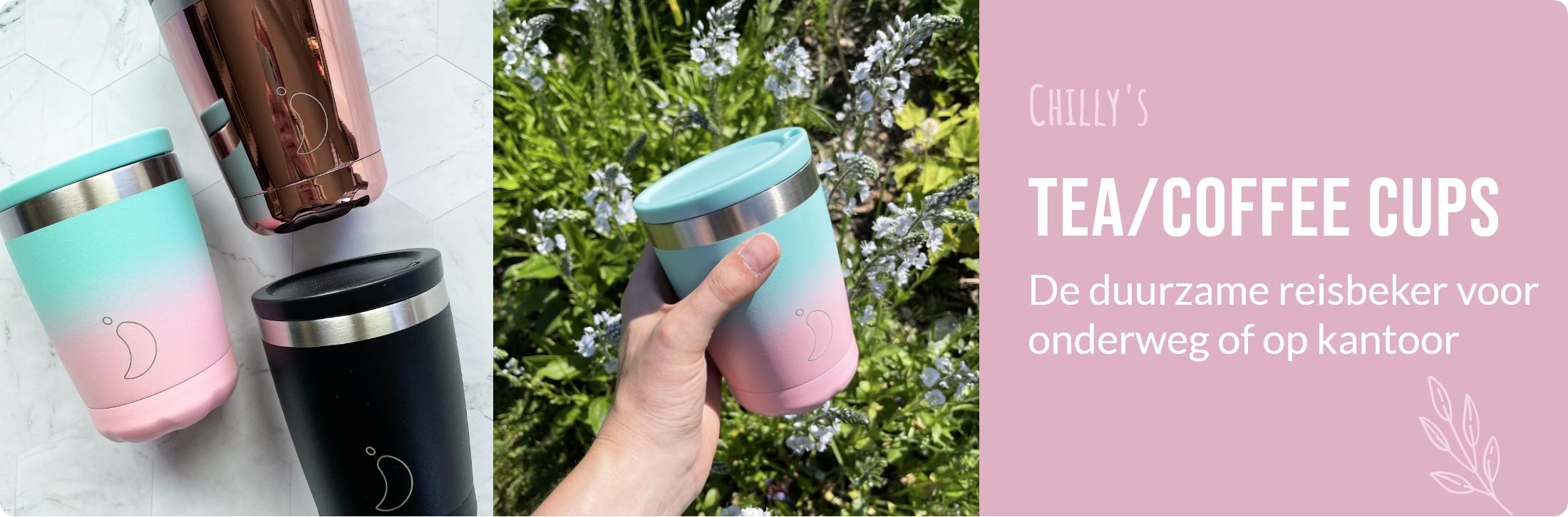 De Thee Winkel - Chilly's Bottles - Tea/Coffee Cups