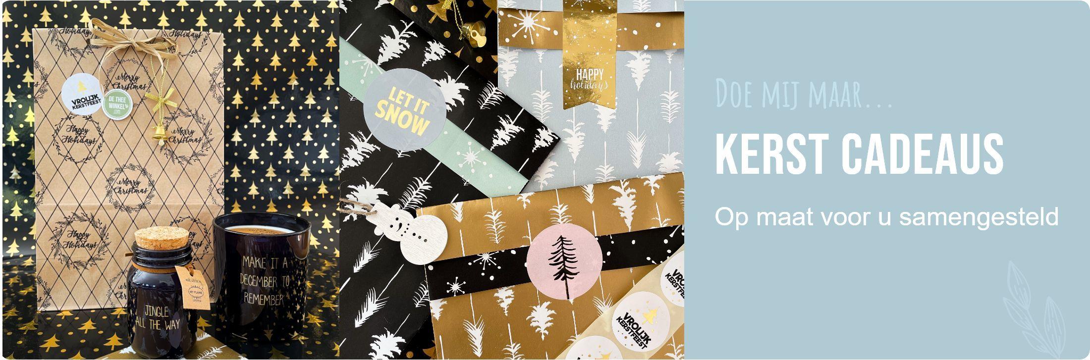 De Thee Winkel - Kerst Cadeaus