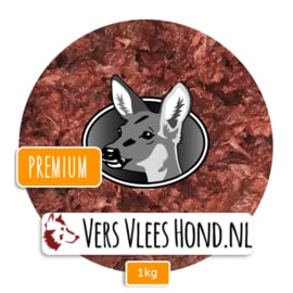BARFmenu Vers Vlees Hond | Hert Premium | Aanvullende KVV, BARF