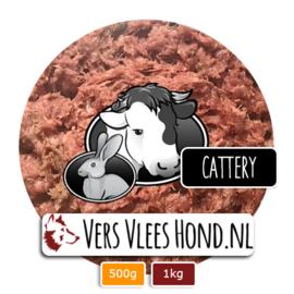 BARFmenu Vers Vlees Kat | 'Cattery' | Complete KVV, BARF