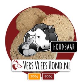 BARFmenu Vers Vlees Hond | Houdbaar | Complete KVV, BARF | 48 x 200g