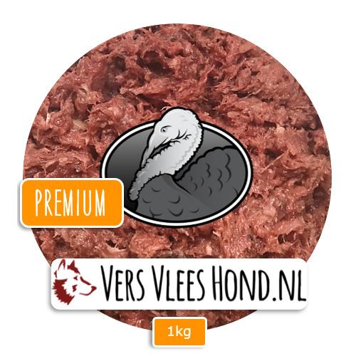 BARFmenu Vers Vlees Hond | Kalkoen Premium | Aanvullende KVV, BARF