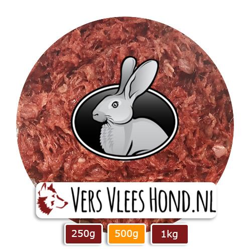 BARFmenu Vers Vlees Hond | Konijn | Complete KVV, BARF
