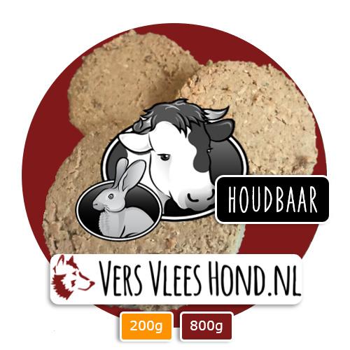 BARFmenu Vers Vlees Hond | Houdbaar | Complete KVV, BARF
