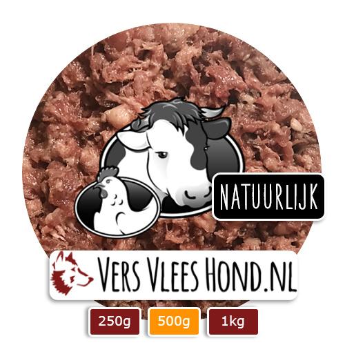 BARFmenu Vers Vlees Hond | 'Natuurlijk' | Complete KVV, BARF