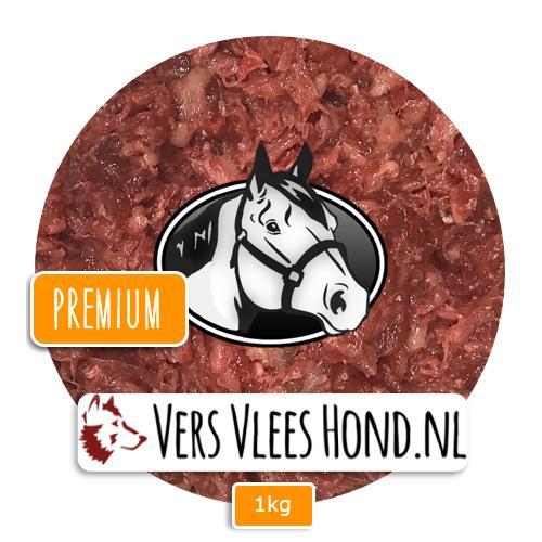 BARFmenu Vers Vlees Hond | Paard Premium | Aanvullende KVV, BARF
