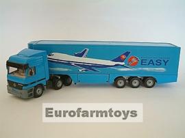 S03816VB Truck + oplegger  Vliegtuig