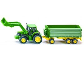 S01843 JD + loader + Trailer