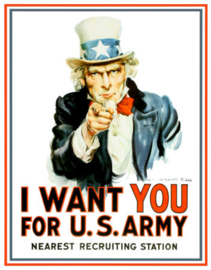 MP0128 Uncle Sam I want you