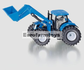 S01986X New Holland tractor met voorlader