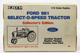 E00868TA Ford 981 Select-O-Speed