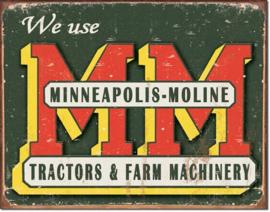 MP1505 Minneapolis Moline logo