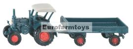 S01635 Lanz Buldog + trailer