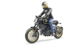 U63050 Ducati Scrambler Racer + driver